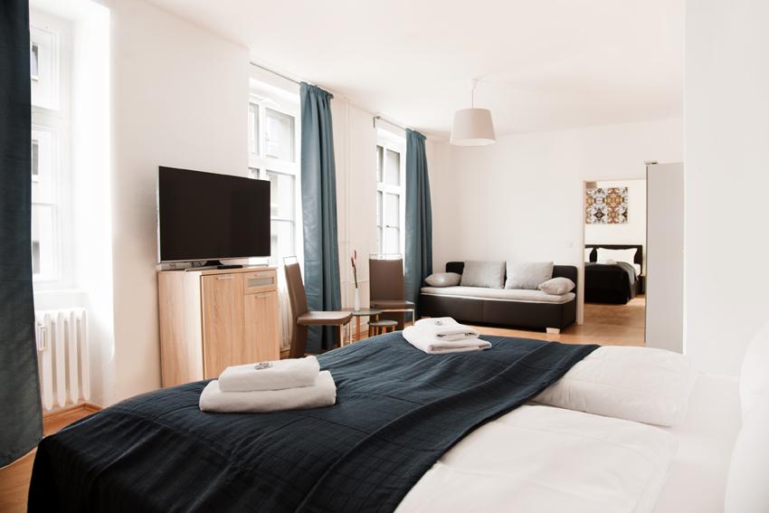 Helle Zimmer Apartment Berlin Mitte
